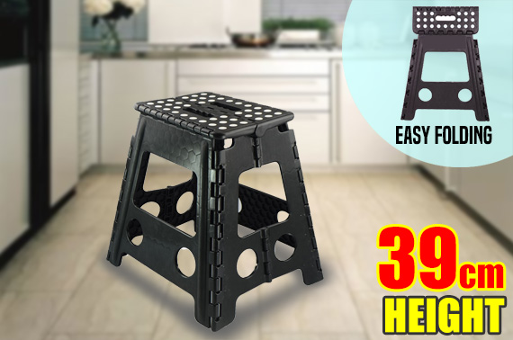 Multi Purpose 39cm Folding Step Stool
