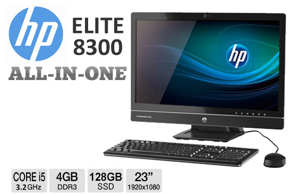 Ex-Lease HP Elite 8300 All-in-One 23