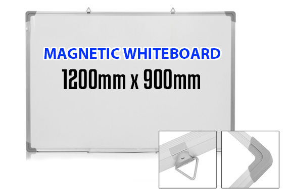 Large 900mmx1200mm Magnetic Whiteboard