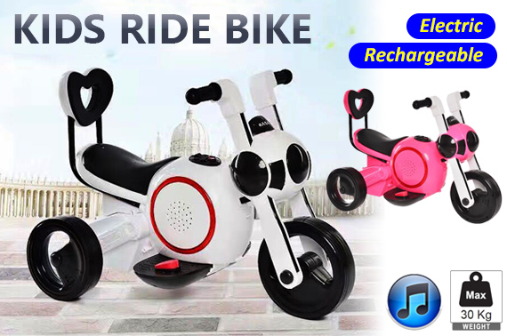 Rechargeable Kids Electric Ride on Toy Motorcycle