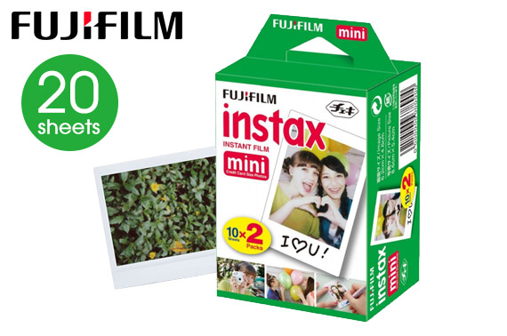 20 Sheets Fujifilm Instax Instant Mini Film