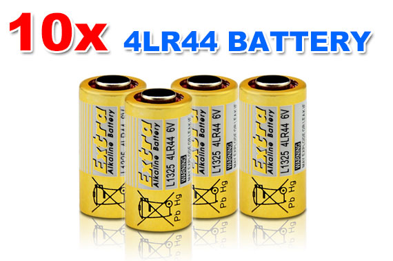 FREE Ozstock Deal: 10x 4LR44 6V Alkaline Battery