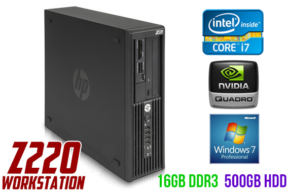 Ex-Lease HP Z220 SFF High Performance Workstation