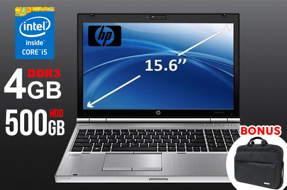 Ex-lease HP Elitebook 8570p 15.6