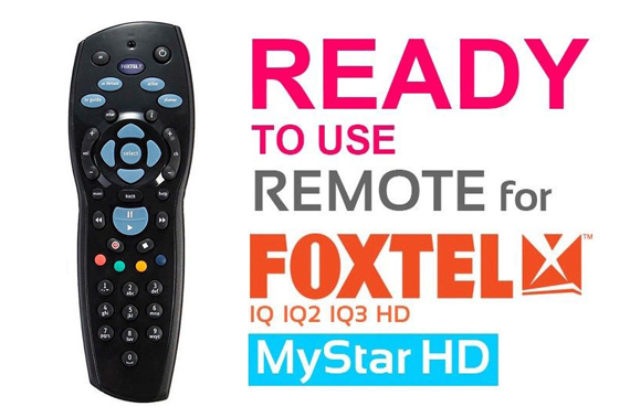 Foxtel Remote Control Replacement For Foxtel Mystar
