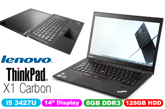 Ex-leased Lenovo Thinkpad X1 Carbon 14