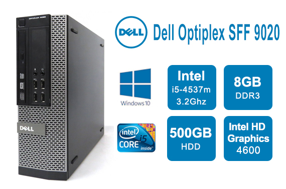 Dell OptiPlex 9020 SFF Core i5-4570 3.2GHz 8GB Ram 500GB HDD Win 10 Pro