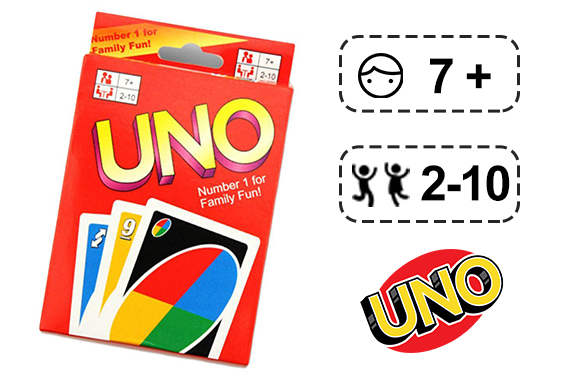 FREE Ozstock Day: UNO PLAYING CARDS FUN EDUCATIONAL TRADITIONAL BOARD GAME PACK