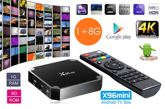 X96MINI Smart TV BOX  WIFI HDMI 4K Media Player