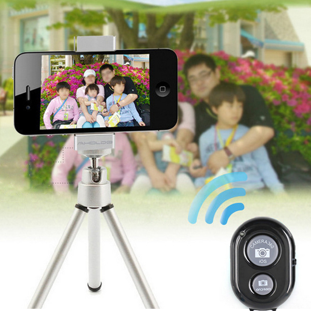 Wireless Bluetooth Remote Control Camera Shutter for iPhone iPad