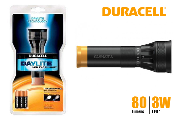 Duracell Daylite LED Flashlight with Batteries