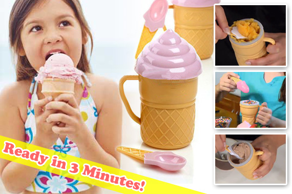 Personal Ice Cream Maker Cup