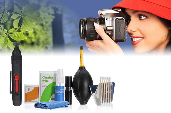 7-in-1 Professional Lens Cleaning Kit + Pen Cleaner