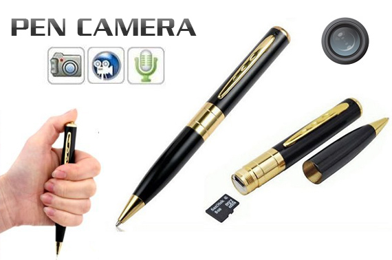 Mini Pen DV Recorder Camera - 1280*960 HD AVI