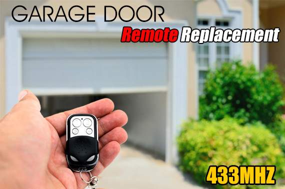 Universal Electric Garage Door Remote Control Replacement 433MHz