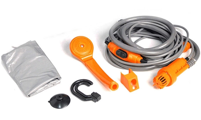 12V Portable Car Camping Shower Set