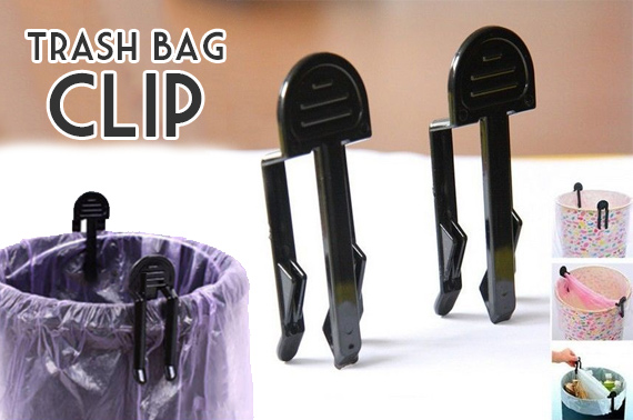4-Piece Trash Bag Clip