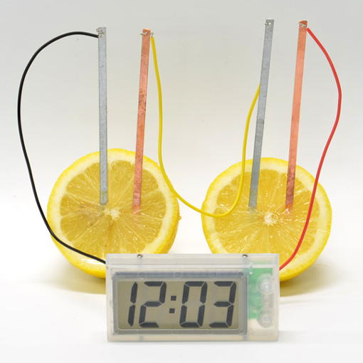 potato clock science fair project