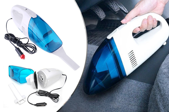 12V Portable Handheld Car Vacuum Cleaner