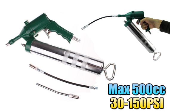 Air Operated Trigger Type Grease Gun for Air Compressor