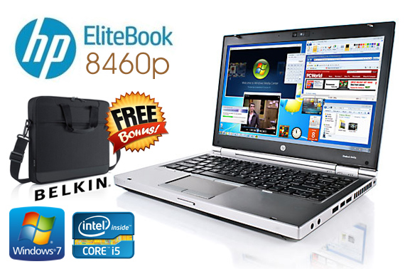 Ex-Lease HP Elitebook 8460p 14