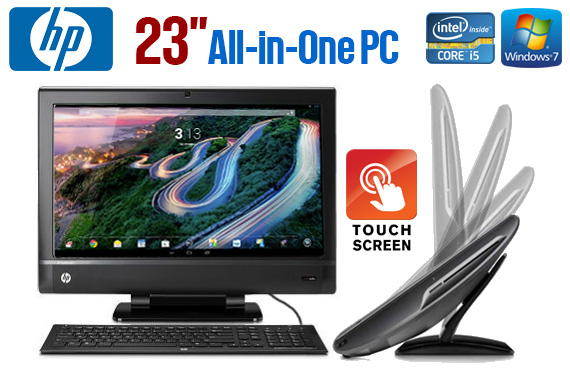 Ex-Lease HP TouchSmart 610 All-In-One PC