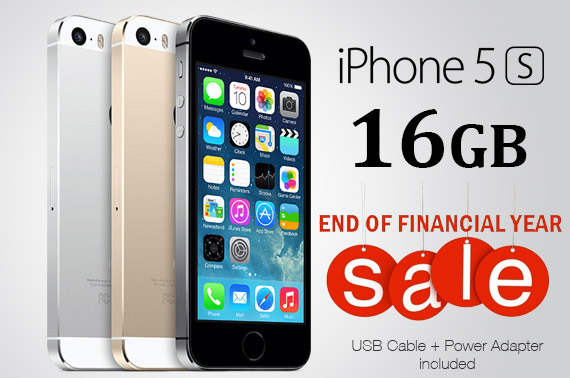 Ex-lease Apple iPhone 5s 16GB Unlocked 3 Colors