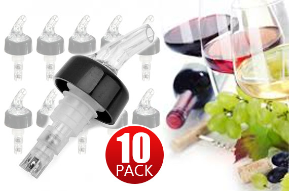 10x 30mL Shot Measure Liquor Pourer Dispenser