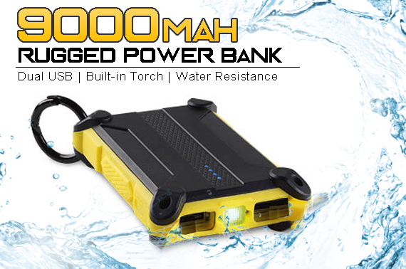 Factory Repacked Workzone 9000mAh Rugged Power Bank