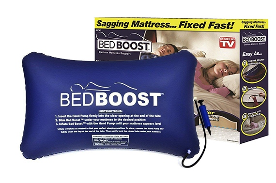 Bed Boost Inflatable Mattress Cushion Support - Fast Fix for a Sagging Mattress