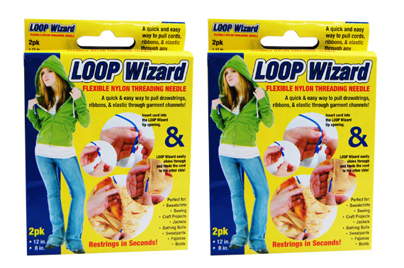 FREE Ozstock Day: 2 Sets (4Pcs in Total) of Loop Wizard - The Flexible Nylon Threading Needles