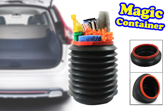 Multifunctional Foldable In Car Bucket