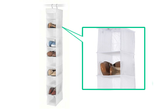 Hanging Shoe Rack - The Best Way to Organise Your Shoes and Slippers!