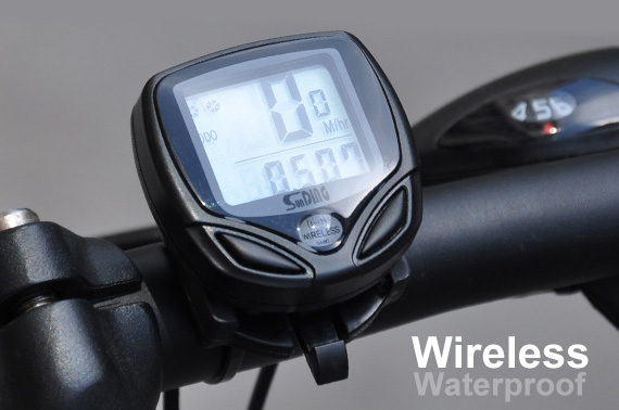 Wireless LCD Bicycle Computer Odometer