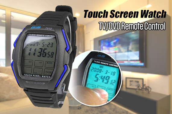 Multifunction Touch Screen Watch - TV/DVD Remote Control