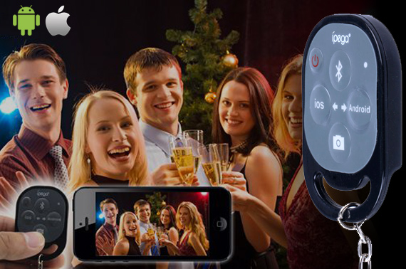 IPEGA Wireless Bluetooth Remote Control Self-timer Shutter