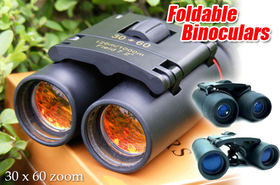 High Quality 30x60 Foldable Binoculars with Day&Night Vision