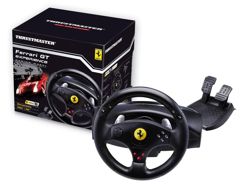 Thrustmaster Ferrari GT Experience Steering Racing Wheel For PC PS3 Gaming
