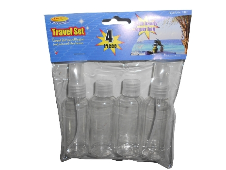 4pcs Travelling Bottle Set