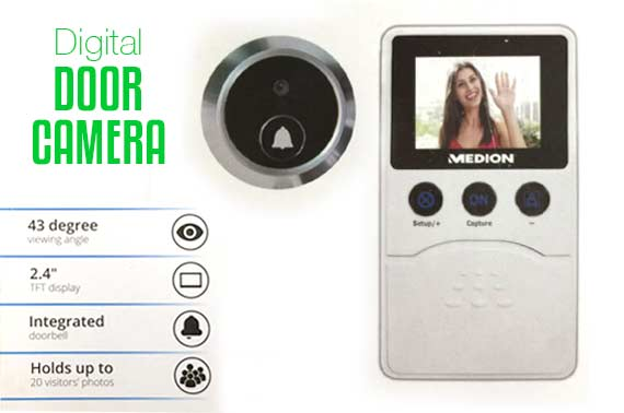 Refurbished Medion Digital Door Camera