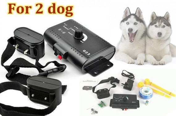 Waterproof Underground 2 Dog Fence System