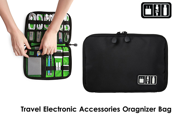 Electronic Accessories Travel Oragnizer Bag