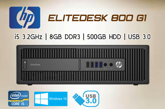 Ex-lease HP EliteDesk 800 G1 SFF Business PC