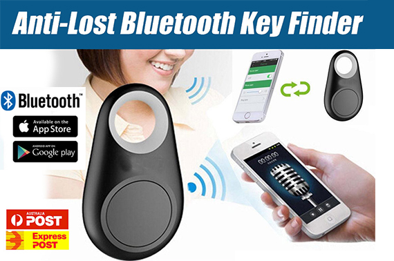 New Bluetooth Anti-Lost Seeker Smart Locator Alarm Key Finder Remote Car Tracker