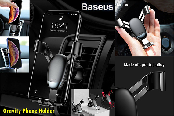 Baseus Universal Car Phone Gravity Holder Air Vent Mount