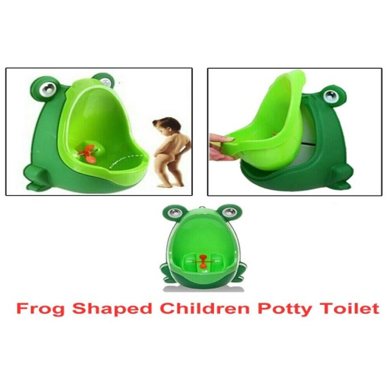 Frog Shaped Kid Baby Potty Toilet Training Pee Trainer