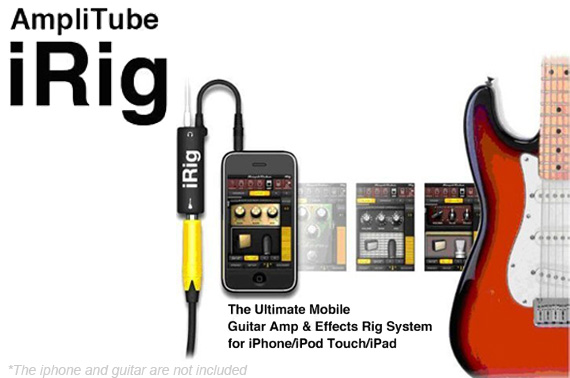 AmpliTube iRig - iPhone/iPad/iPod Touch Guitar Interface