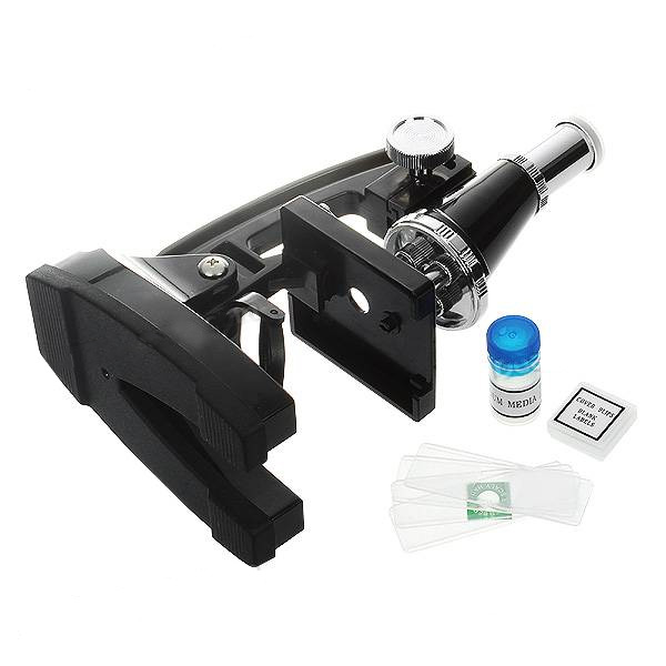 18 Piece Microscope With Discovery Kit