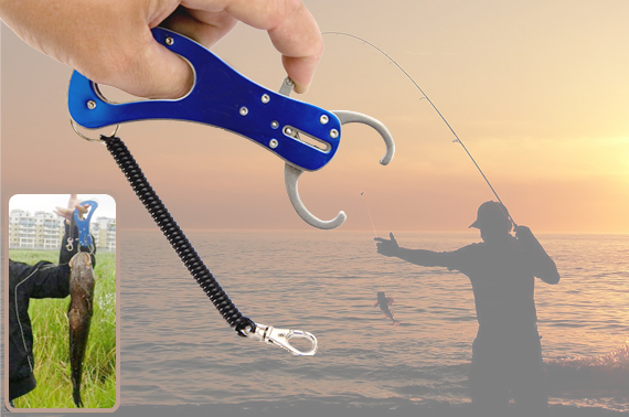 Stainless Steel Pocket Size Fishing Lip Gripper