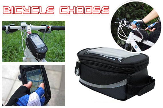 FREE Ozstock Day: Waterproof Bicycle Pouch For Mobile Phone